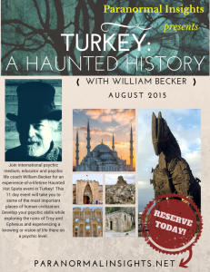 Turkey Event Poster