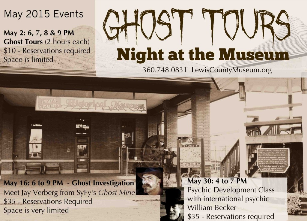 May Events at the Lewis County Museum